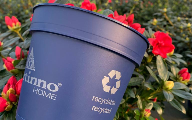 Hortinno® recycled recyclable pot